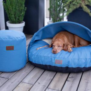 snuggle-dreamer-outdoor-hundehoehle_picknicker-blau-hocker-Siton-Blau_2